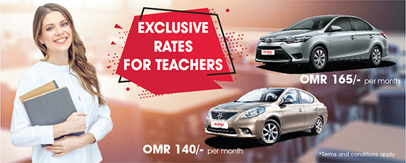 EXCLUSIVE RATES FOR TEACHERS